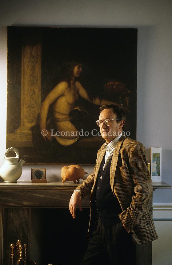 Nico Orengo, writer, torino 1996-  © Leonardo Cendamo