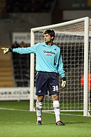 Pictured: Dimitrios Konstantopoulos of Swansea City in action <br /> Re: Carling Cup Round Four, Swansea City Football Club v Watford at the Liberty Stadium, Swansea, south Wales, Tuesday 11 November 2008.<br /> Picture by Dimitrios Legakis Photography (Athena Picture Agency), Swansea, 07815441513