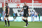 Ospreys captain Alun Wyn Jones.<br /> RoboPro 12<br /> Ospreys v Connacht<br /> 10.05.14<br /> &copy;Steve Pope-SPORTINGWALES