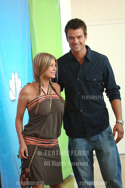 Actor JOSH DUHAMEL & girlfriend rock star FERGIE (Sarah Ann Ferguson), of The Black Eyed Peas, at cocktail party in Beverly Hills for the new season of the NBC TV series Las Vegas in which he stars..July 24, 2005  Los Angeles, CA.© 2005 Paul Smith / Featureflash