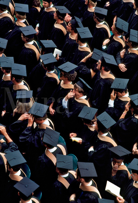 Graduation Dartmoutn College, Hanover, New Hampshire. USA