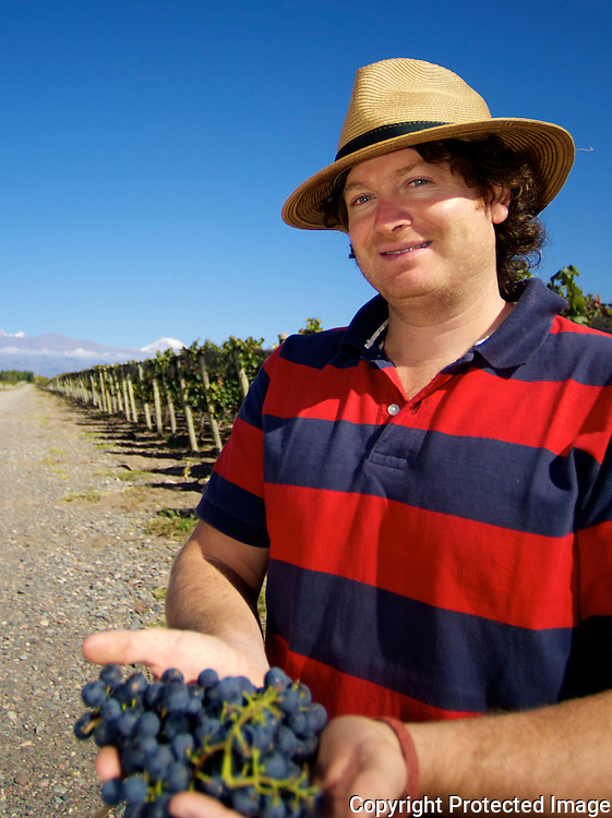 Luis Reginato is the chief winemaker for Luca, La Posta and tikal wines of the Catena Zapata portfolio.