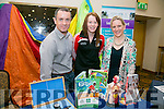 Kevin Beasley, Sports and Recreation NKCFE, Gemma Moynihan, North Kerry College and Shirley Moloney, North Kerry College  at the Kerry ETB's Further Education and Training Fair in the The Brandon Hotel on Thursday