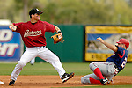 10 March 2006: Craig Biggio, infielder for the Houston Astros, doubles off Nick Johnson during a Spring Training game against the Washington Nationals. The Astros defeated the Nationals 8-6 at Osceola County Stadium, in Kissimmee, Florida...Mandatory Photo Credit: Ed Wolfstein..