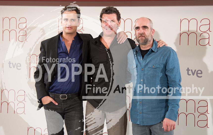 FromL Asier Etxeandia, Director Julio Medem  and Luis Tosar