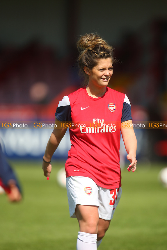 Jade Bailey  of Arsenal Ladies - Arsenal Ladies vs Gillingham Ladies, FA Womens Cup at Meadow Park - 13/04/14 - MANDATORY CREDIT: Dave Simpson/TGSPHOTO - Self billing applies where appropriate - 0845 094 6026 - contact@tgsphoto.co.uk - NO UNPAID USE