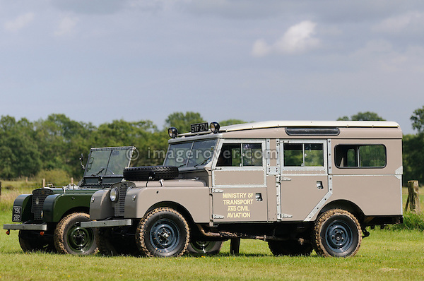 Ex Ministry of Transport and Civil Aviation Land Rover Series 1 107