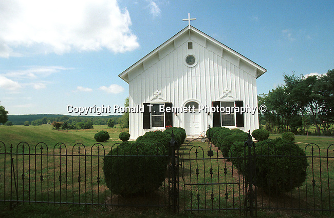 Little old white church in field Commonwealth of Virginia, church, white church, Black and White photography, Black & White, Fine art photography in black and white, Ron Bennett Photographer, Fine Art Photography by Ron Bennett, Fine Art, Fine Art photography, Virginia Fine Art Stock Photography, Copyright RonBennettPhotography.com ©