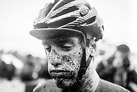 Picture by Russell Ellis/russellis.co.uk/SWpix.com - 30/01/2016 - Cycling - Cyclo-Cross - Italian rider.