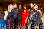 Teachers of CBS the Green enjoying their Christmas party in Benners Hotel on Friday.<br /> L to r: Helen and Catriona Kelliher, Ellen McGillicuddy, Barbara Whelan, Helen Hayes and Sarah Spillane.