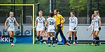 BLOEMENDAAL -   scheidsrechter Stefan Her.   , Libera hoofdklasse hockey Bloemendaal-Pinoke (0-0). COPYRIGHT KOEN SUYK