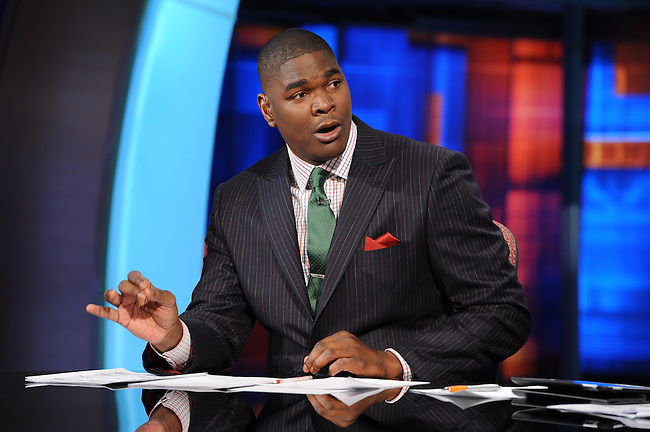 January  08, 2012 - Bristol, CT - Studio E:  Sunday NFL Countdown, Keyshawn Johnson. .Credit: Joe Faraoni/ESPN