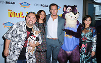 "05 August  2017 - Los Angeles, California - Gabriel Ilgesias, Maya Rudolph, Will Arnett, Isabela Moner.  World premiere of ""Nut Job 2: Nutty by Nature""  held at Regal Cinema at L.A. Live in Los Angeles. Photo Credit: Birdie Thompson/AdMedia"