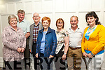 At the Fundraising Dance in aid of Recovery Haven Kerry Cancer Support House at Earl of Desmond Hotel on Friday were Joan Stack, Martin Stack, John Cronin, Eileen Cronin, Beatrice McDonnell, Eugene McMahon and Veronica O'Hanlon