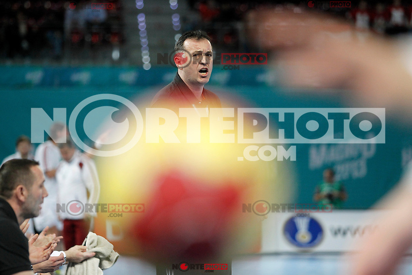Croatia's coach Slavko Goluza during 23rd Men's Handball World Championship preliminary round match.January 15,2013. (ALTERPHOTOS/Acero) /NortePhoto