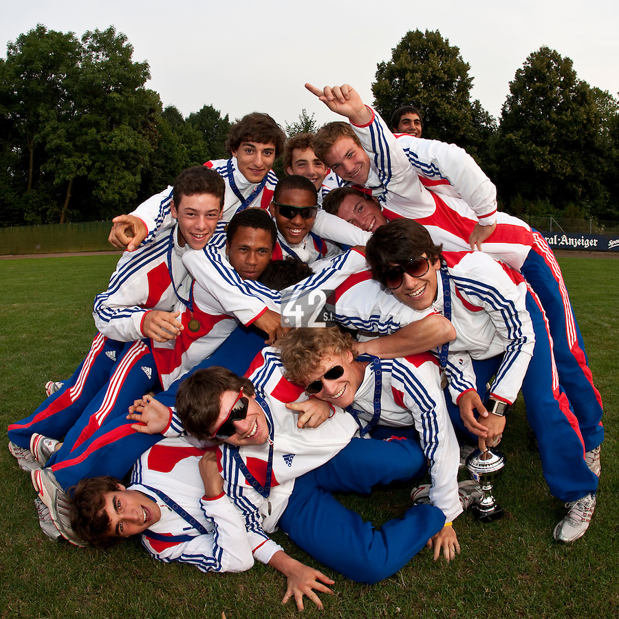 Baseball - 2009 European Championship Juniors (under 18 years old) - Bonn (Germany) - 09/08/2009 - Day 7 - Team France Bronze medal