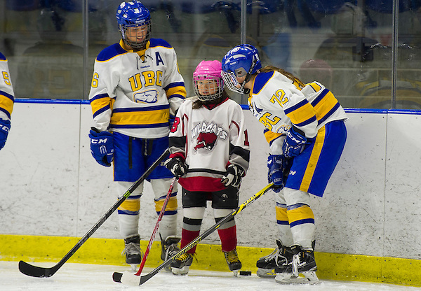 VANCOUVER,BC:JANUARY 16, 2016 -- UBC Thunderbirds University of Alberta during CIS Canada West women's hockey action at UBC in Vancouver, BC, January, 16, 2016. (Rich Lam/UBC Athletics Photo) <br /> <br /> ***MADATORY CREDIT***