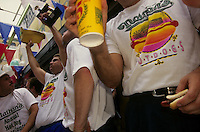 Coney Island, Brooklyn, New York - Nathan's Fourth of July Hot Dog Eating Contest
