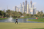 Rory McIlroy (NIR) walks the 4th green on day one of the Dubai Desert Classic 2011 on the Majlis Course, Emirates Golf Club, Dubai, UAE. 10/02/2011.Picture Fran Caffrey/www.golffile.ie.