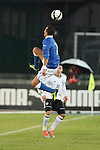 Riccardo Improta, Thomas Pledl in action during the Four Nations football match tournament Italy vs Germany at Rovereto, on November 14, 2013.  <br /> <br /> Pierre Teyssot