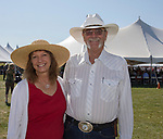 Trish aand JD Mayes during the Basque Fry at the Corley Ranch  in Gardnerville, Nevada on Saturday, August 26, 2017.