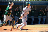 Slippery Rock shortstop Will Kengor (32) during a game against the Wayne State Warriors on March 15, 2013 at Chain of Lakes Park in Winter Haven, Florida.  (Mike Janes/Four Seam Images)
