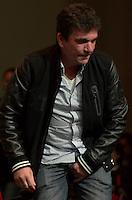 SÃO PAULO, SP, 26.07.2014 – LANÇAMENTO DE CANDIDATURAS DO PT: -  Andres Sanchez (d) durante lançamento de candidaturas do Partido dos Trabalhadores (PT) na tarde deste sábado (27), na Casa de Portugal, bairro da Liberdade em São Paulo. (Foto: Levi Bianco / Brazil Photo Press).