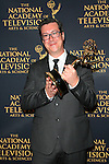 LOS ANGELES - APR 24: Michael Barrett at The 42nd Daytime Creative Arts Emmy Awards Gala at the Universal Hilton Hotel on April 24, 2015 in Los Angeles, California
