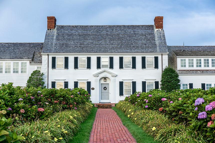 Grand home, Chatham, Cape Cod, Massachusetts, USA.