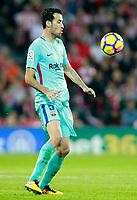 FC Barcelona's Sergio Busquets during La Liga match. October 28,2017. (ALTERPHOTOS/Acero) /NortePhoto.com