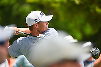 Nick Watney (USA) watches his tee shot on 3 during round 4 of the 2019 Charles Schwab Challenge, Colonial Country Club, Ft. Worth, Texas,  USA. 5/26/2019.<br /> Picture: Golffile | Ken Murray<br /> <br /> All photo usage must carry mandatory copyright credit (© Golffile | Ken Murray)