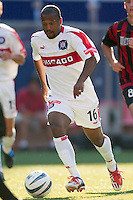 Andy Williams of the Fire. The Chicago Fire defeated the NY/NJ MetroStars 2-1 on 8/24/03 at Giant's Stadium, NJ..
