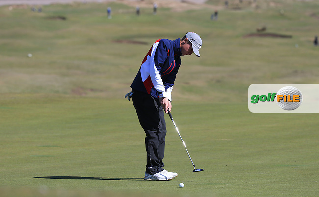 Josh Hilleard during Round Two of the West of England Championship 2016, at Royal North Devon Golf Club, Westward Ho!, Devon  23/04/2016. Picture: Golffile | David Lloyd<br /> <br /> All photos usage must carry mandatory copyright credit (&copy; Golffile | David Lloyd)