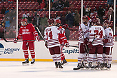 Austin Plevy (UMass - 14), Jake McLaughlin (UMass - 28), Shane Bear (UMass - 24), Brett Boeing (UMass - 20) - The Boston University Terriers defeated the University of Massachusetts Minutemen 5-3 on Sunday, January 8, 2017, at Fenway Park in Boston, Massachusetts.The Boston University Terriers defeated the University of Massachusetts Minutemen 5-3 on Sunday, January 8, 2017, at Fenway Park.