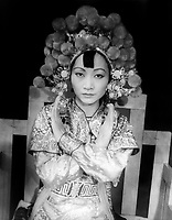 Westport, USA - 11 August 1937- <br /> Anna May Wong as Turandot, by Carl Van Vechten, 1937