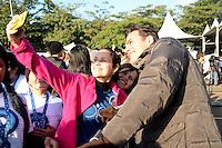 SÃO PAULO,SP, 12.06.2016 - CORRIDA-CANCER - Ator Carlos Casagrande durante  Corrida e Caminhada Contra o Câncer de Mama, com largada no Ibirapuera,12 em São Paulo.(Foto: Eduardo Martins / Brazil Photo Press)