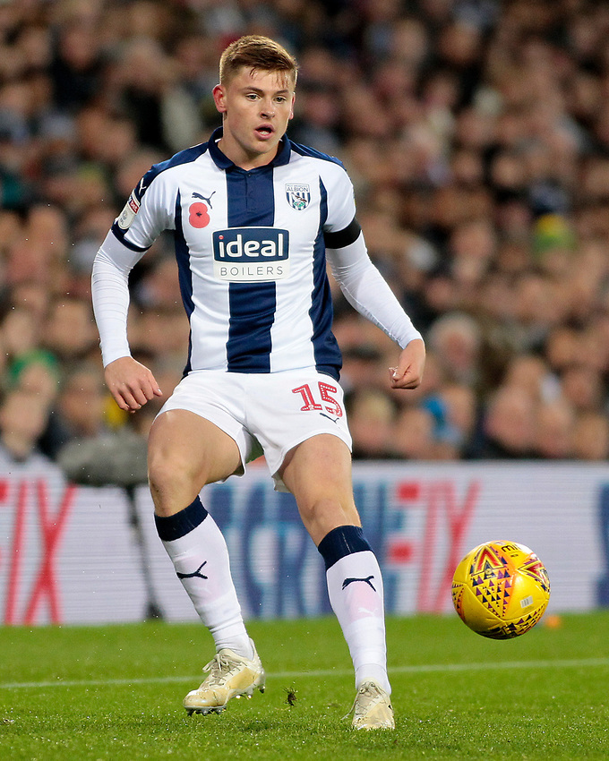 West Bromwich Albion's Harvey Barnes in action<br /> <br /> Photographer David Shipman/CameraSport<br /> <br /> The EFL Sky Bet Championship - West Bromwich Albion v Leeds United - Saturday 10th November 2018 - The Hawthorns - West Bromwich<br /> <br /> World Copyright © 2018 CameraSport. All rights reserved. 43 Linden Ave. Countesthorpe. Leicester. England. LE8 5PG - Tel: +44 (0) 116 277 4147 - admin@camerasport.com - www.camerasport.com
