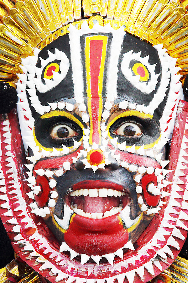 23/7/2020. Ganesh Naik from the YAKSHAGANA KENDRA group from India are pictured at the launch of  The Dún Laoghaire Festival of World Cultures 10th anniversary Festival at the Royal Marine Hotel, Dún Laoghaire.  The 10th annual Festival of World Cultures opens Friday July 23 and runs until Sunday July 25, 2010. Picture James Horan/Collins Photos