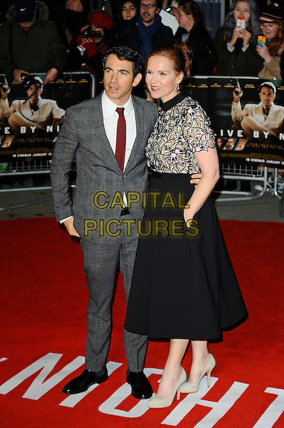 LONDON, ENGLAND - JANUARY 11: Chris Messina and Jennifer Todd attending the 'Live By Night' premiere at BFI Southbank on January 11, 2017 in London, England.<br /> CAP/MAR<br /> &copy;MAR/Capital Pictures
