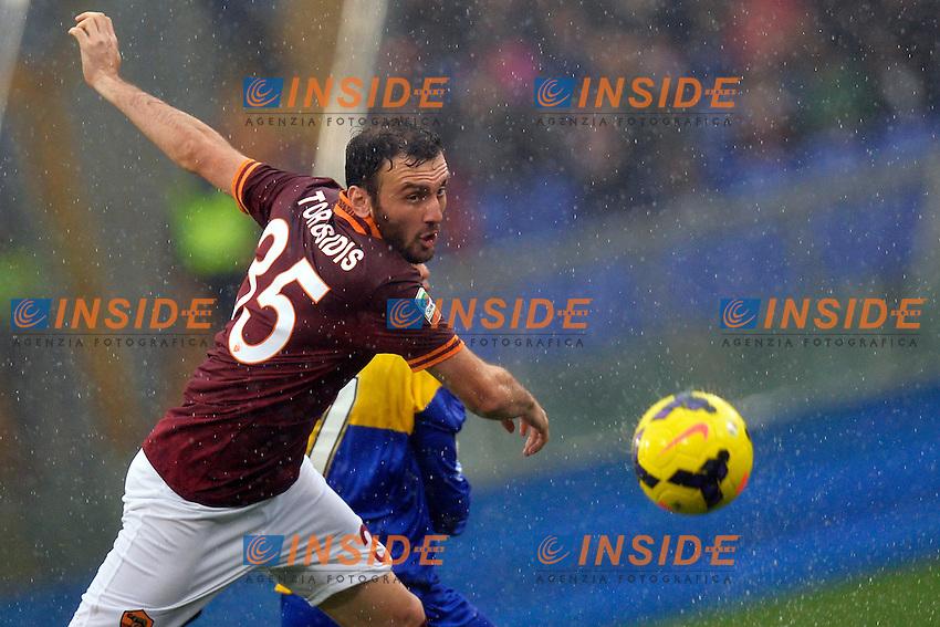 Vassilis Torosidis Roma <br /> Roma 02-01-2014 Stadio Olimpico - Football Calcio Serie A 2013/2014 AS Roma - Parma Foto Andrea Staccioli / Insidefoto