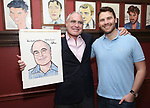 Todd Haimes and son  attends the Todd Haimes' Sardi's Caricature Unveiling at Sardi's  on June 7, 2017 in New York City.