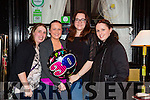 Tina Dunne, Tralee celebrates her 30th birthday with friends at the Stone House on Saturday Pictured l-r Karina Devane, Tina Dunne, Janice Ennis and Tracy O'Carroll