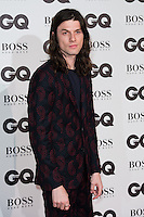James Bay arrives for the GQ Men Of The Year Awards 2016 at the Tate Modern, London