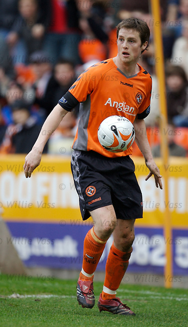 Jon Daly, Dundee Utd.stock season 2006-2007.pic willie vass