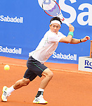26.04.2014 Barcelona, Spain. ATP500 , Barcelona Open Banc Sabadell. Semi-final. Picture show Kei Nishikori (JPN) in action at central court