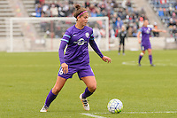 Bridgeview, IL, USA - Sunday, May 1, 2016: Orlando Pride forward Sarah Hagen (8) during a regular season National Women's Soccer League match between the Chicago Red Stars and the Orlando Pride at Toyota Park. Chicago won 1-0.