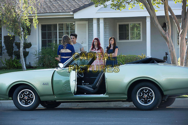 Molly Tarlov, Niko Pepaj, Jillian Rose Reed, Ashley Rickards <br /> in Awkward. (Season 4)<br /> *Filmstill - Editorial Use Only*<br /> CAP/FB<br /> Image supplied by Capital Pictures