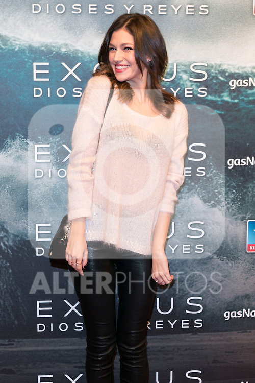 "Ursula Corbero attend the Premiere of the movie ""EXODUS: GODS AND KINGS"" at callao Cinema in Madrid, Spain. December 4, 2014. (ALTERPHOTOS/Carlos Dafonte)"
