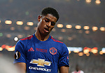 Marcus Rashford of Manchester United looks dejected during the UEFA Europa League Final match at the Friends Arena, Stockholm. Picture date: May 24th, 2017.Picture credit should read: Matt McNulty/Sportimage