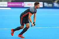 Mirco Pruijser of the Netherlands during the Hockey World League Quarter-Final match between Netherlands and China at the Olympic Park, London, England on 22 June 2017. Photo by Steve McCarthy.<br /> <br /> Netherlands v China at the Olympic Park, London, England on 22 June 2017. Photo by Steve McCarthy.